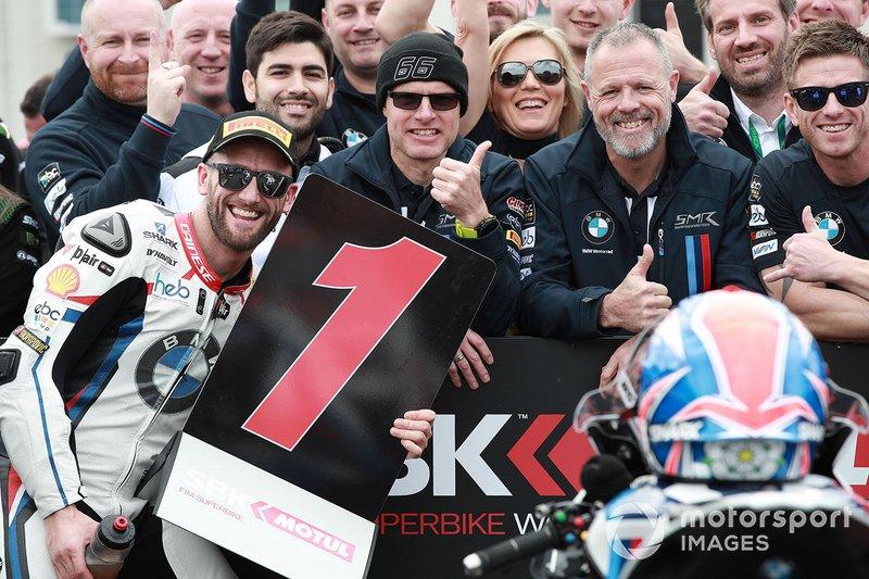 Polesitter Tom Sykes, BMW Motorrad WorldSBK Team