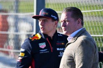 Max Verstappen, Red Bull Racing, and father Jos Verstappen