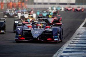Robin Frijns, Virgin Racing, Audi e-tron FE06 Antonio Felix da Costa, DS Techeetah, DS E-Tense FE20