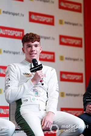 2019 Aston Martin Autosport BRDC Young Driver Award nominee Ayrton Simmons