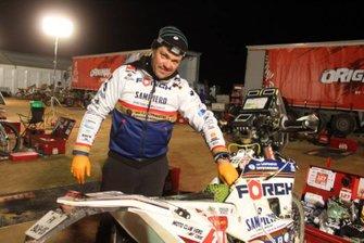 #127 Sébastien Cosjean, Husqvarna 450