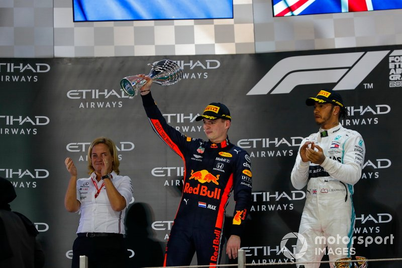 Max Verstappen, Red Bull Racing, secondo classificato