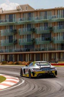 #888 Mercedes-AMG Team Triple Eight Race Engineering Mercedes AMG GT3: Shane Van Gisbergen, Jamie Whincup, Maximilian Götz