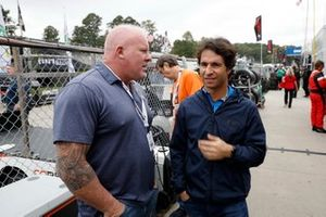 Bruno Junqueira with Paul Tracy of NBC