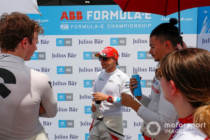 Felipe Massa, Venturi Formula E with Oliver Turvey, NIO 333, Pascal Wehrlein, Mahindra Racing