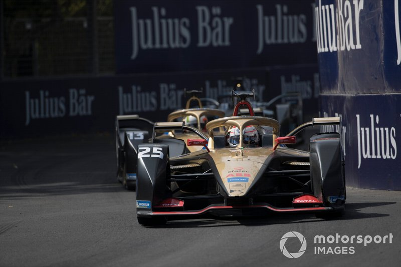 Jean-Eric Vergne, DS Techeetah, DS E-Tense FE20 Antonio Felix da Costa, DS Techeetah, DS E-Tense FE20