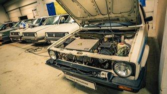 La colección más grande del mundo de Volkswagen Golf
