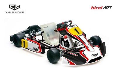Charles Leclerc Kart Team announcement