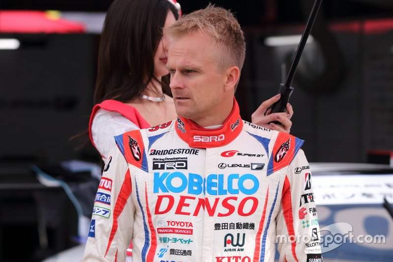 Heikki Kovalainen(#39 DENSO KOBELCO SARD LC500)
