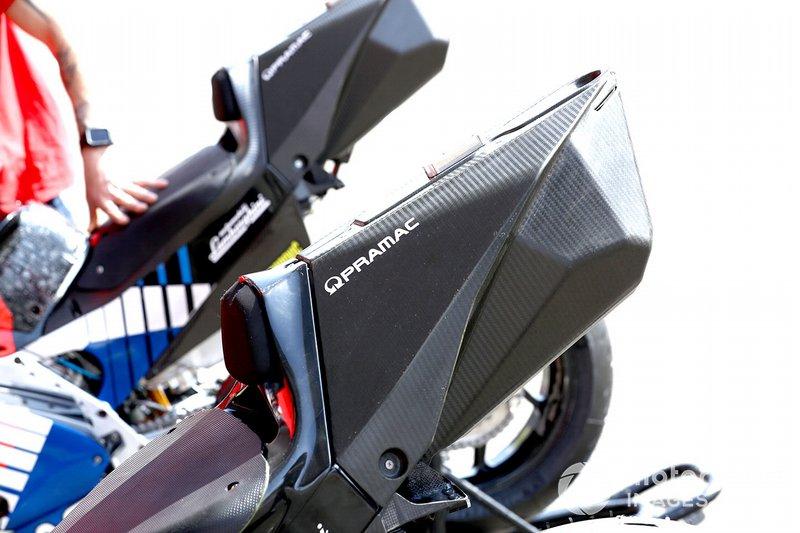 Мотоцикл Ducati Desmosedici GP20 команды Pramac Racing