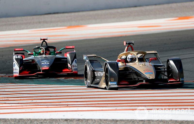 Jean-Eric Vergne, DS TECHEETAH, DS E-Tense FE20 Daniel Abt, Audi Sport ABT Schaeffler, Audi e-tron FE06