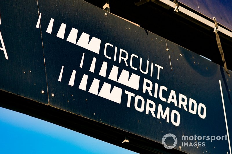 Circuit Ricardo Tormo sign