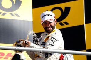 Podium: nummer drie Timo Glock, BMW Team RMG