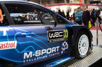 M-Sport Ford Fiesta WRC of Elfyn Evans and Scott Martin