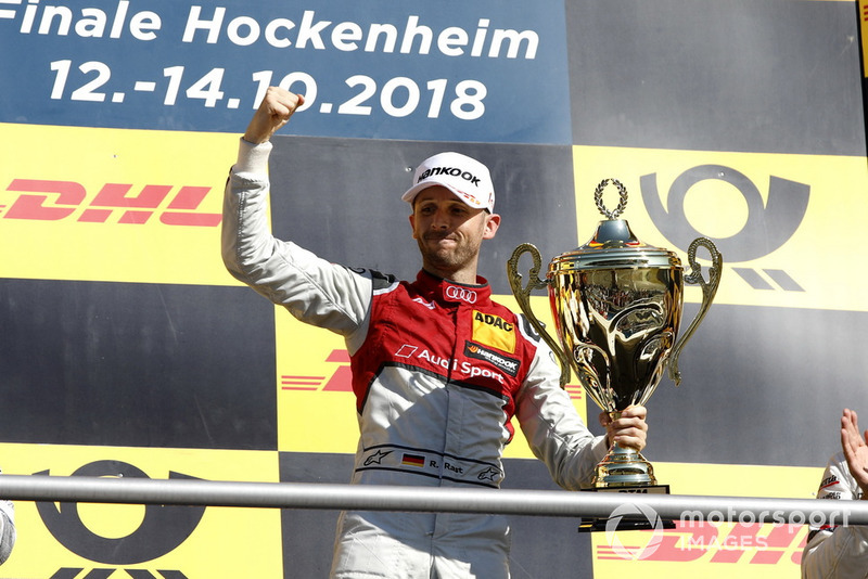Podio: ganador, René Rast, Audi Sport Team Rosberg