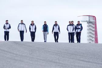 Sergey Sirotkin, Williams Racing walks rhe track