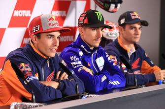 Marc Marquez, Repsol Honda Team, Maverick Viñales, Yamaha Factory Racing, Dani Pedrosa, Repsol Honda Team