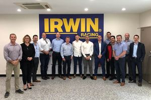 Team 18 with Irwin