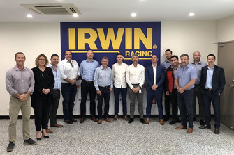Team 18 with Irwin