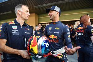 Daniel Ricciardo, Red Bull Racing and helmet