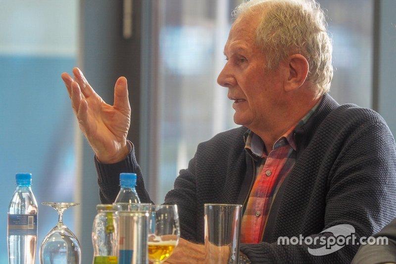 Helmut Marko. Red Bull