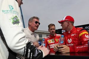 David Coulthard, Sebastian Vettel, Mick Schumacher
