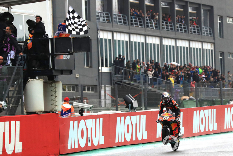 Race winner Can Oncu, Red Bull KTM Ajo