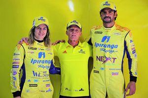 Renovação Ipiranga: Thiago Camilo, Andreas Mattheis e Bia Figueiredo