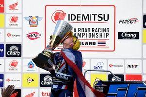 Champion of SuperSports 600cc ARRC 2018, Ratthapong Wilairot, Yamaha Thailand Racing Team