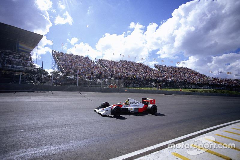 1990 - Pentacampeonato da Honda