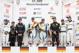 Podium: Race winner #4 Falken Motorsports Porsche 911 GT3 R: Klaus Bachler, Martin Ragginger, second place #47 Mercedes-AMG Team HTP Mercedes-AMG GT3: Maximillian Götz, Raffaele Marciello, Patrick Assenheimer, third place #6 Black Falcon Mercedes-AMG GT3: Hubert Haupt, Yelmer Buurman, Luca Stolz