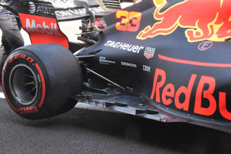 Red Bull Racing RB14 detalle del piso