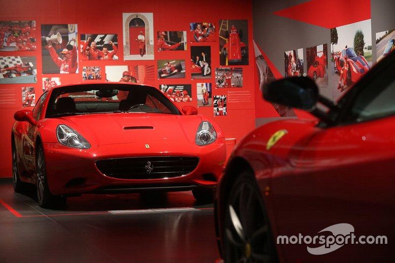 La exposición 'Michael 50' en el Museo Ferrari en Maranello