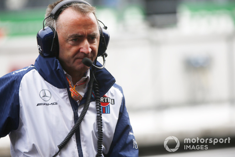 Paddy Lowe, Chief Technical Officer, Williams Racing