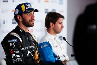Jean-Eric Vergne, DS TECHEETAH, Antonio Felix da Costa, BMW I Andretti Motorsports in the press conference