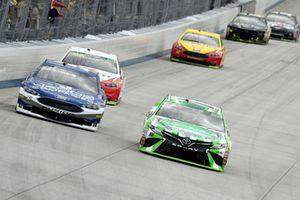 Kyle Busch, Joe Gibbs Racing, Toyota Camry Interstate Batteries, B.J. McLeod, Rick Ware Racing, Ford Fusion Jacob Companies
