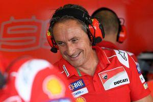Silvio Sangalli, team coordinator, Ducati