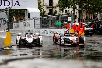 Maximillian Gunther, GEOX Dragon Racing, Penske EV-3, lotta con Lucas Di Grassi, Audi Sport ABT Schaeffler, Audi e-tron FE05