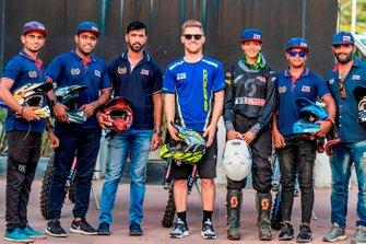 TVS Racing rider line-up