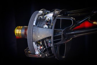 Red Bull Racing RB15 front brakes detail