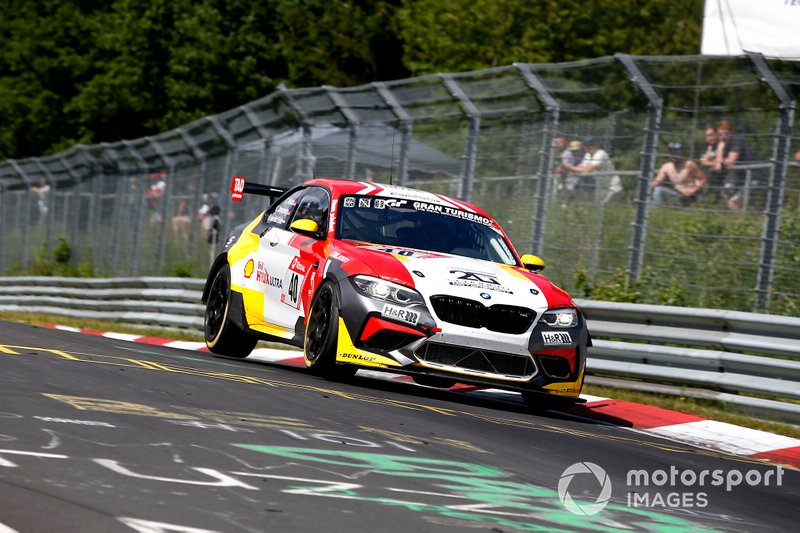 #40 Schubert Motorsport BMW M2 Competition: Christopher Dreyspring, Ricardo van der Ende, Christopher Brück