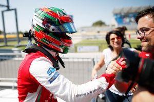Jehan Daruvala (IND PREMA Racing, celebrates in Parc Ferme