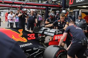 Red Bull rear wing technical details