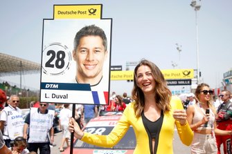 Grid Girl für Loic Duval, Audi Sport Team Phoenix