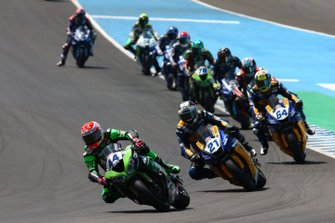 Lucas Mahias, Kawasaki Puccetti Racing and Randy Krummenacher, BARDAHL Evan Bros.