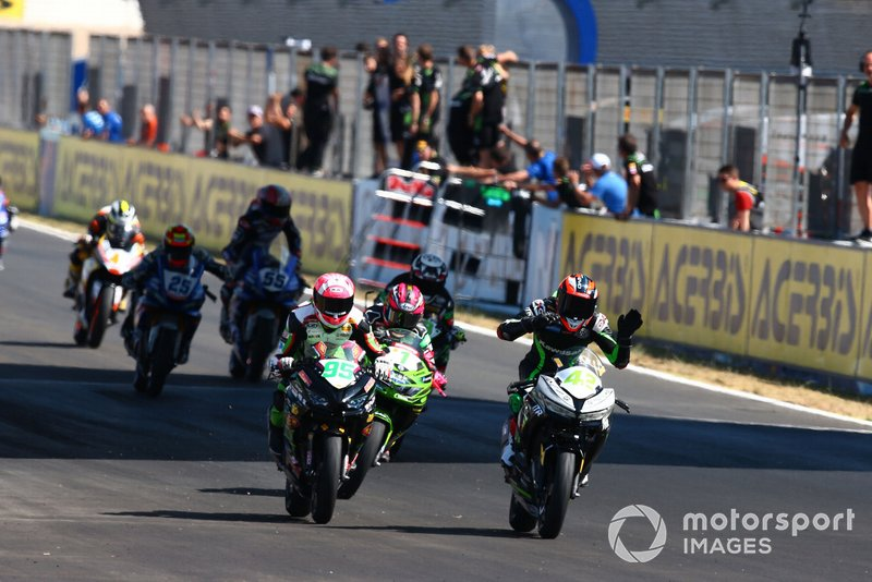 Marc Garcia, Scott Deroue, Ana Carrasco, Provec Racing