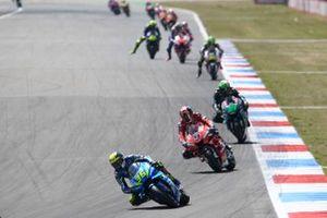 Joan Mir, Team Suzuki MotoGP, Danilo Petrucci, Ducati Team, Franco Morbidelli, Petronas Yamaha SRT