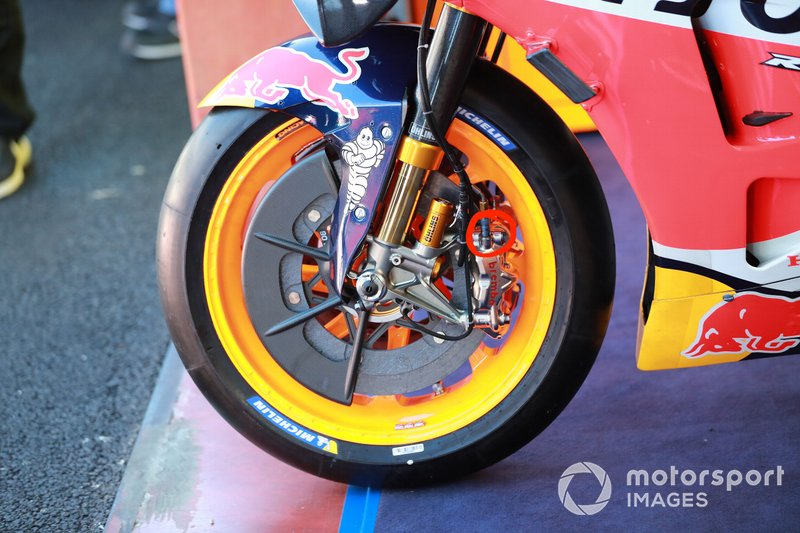 Brake from the bike of Marc Marquez, Repsol Honda Team