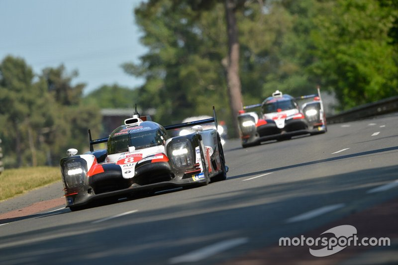#8 Toyota Gazoo Racing Toyota TS050: Sebastien Buemi, Kazuki Nakajima, Fernando Alonso, Brendon Hartley, Mike Conway