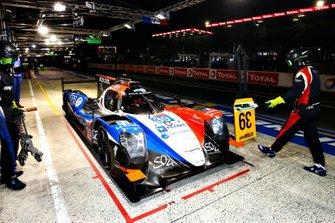 #39 Graff, Oreca 07: Tristan Gommendy, Vincvent Capillaire, Jonathan Hirschi take pole position in the LMP2 class